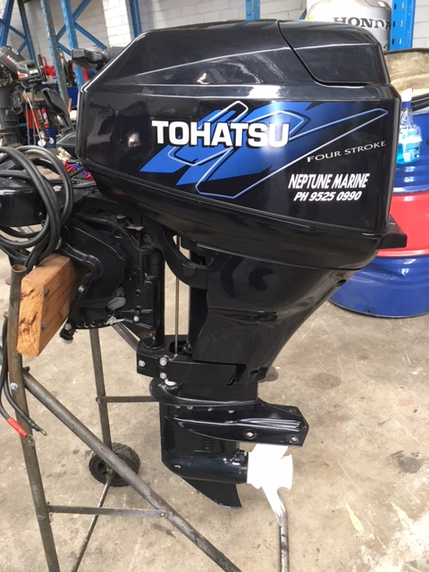 Tohatsu 18HP 4 Stroke Outboard Motor with electric start | Neptune